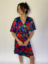 Load image into Gallery viewer, vintage deadstock wrap slip dress