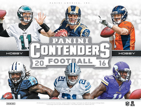 2016 PANINI CONTENDERS FOOTBALL 12 BOX CASE BREAK LIVE-BOX-BREAKS.COM