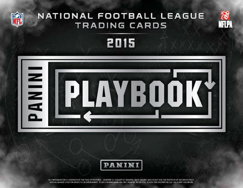 2/10 - 10PM EST ~ 15 BOX CASE BREAK ~ 2015 PANINI PLAYBOOK FOOTBALL RANDOM.ORG BREAK ~ EACH SPOT PURCHASED BUYS 1 TEAM