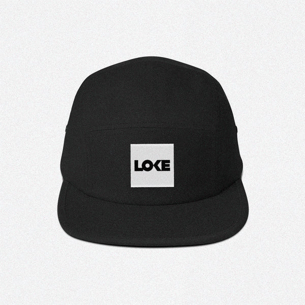 Loke Box Logo 5-Panel Cap