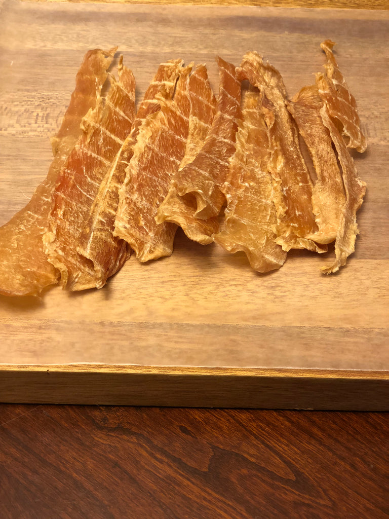 Homemade All-Natural Chicken Jerky Dog Treats 8oz