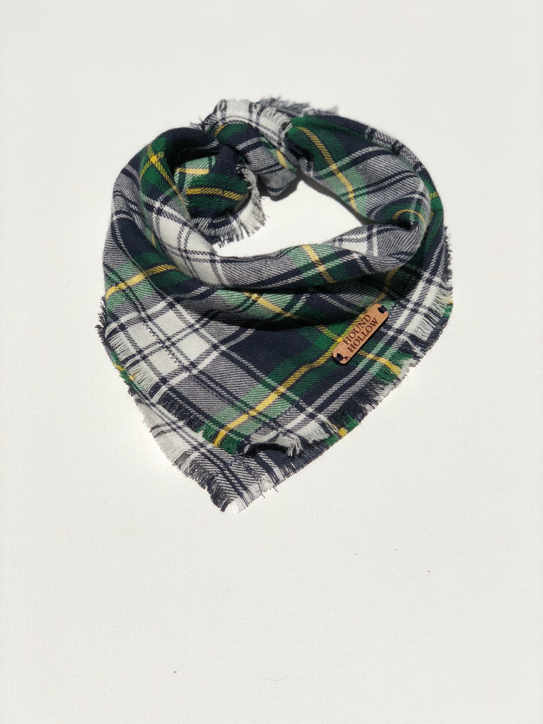 Tartan Plaid Dog Bandana