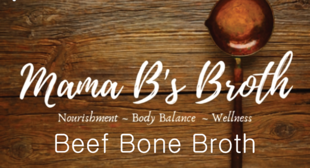 100% Grass-Fed Beef Bone Broth - 14 fl oz