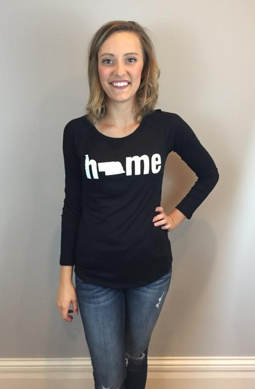 Black Home Long Sleeve