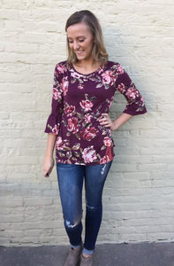 Jessi Bell Sleeve Top