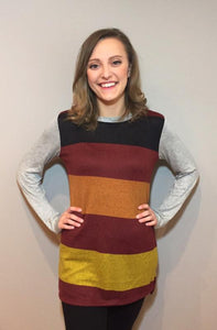 Jaynie Colorblock Top