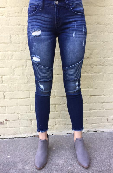 Motto Ankle Skinny Jeans