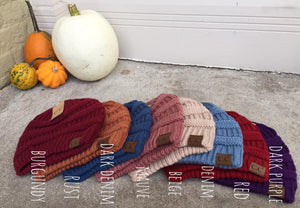 C.C. Beanie {Multiple Colors}