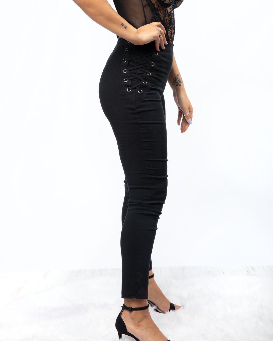 Special Touch High Rise Pants (2943225561188)