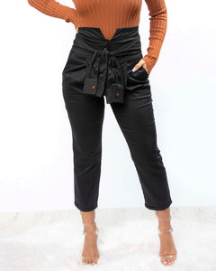 No Ties Highwaist Pants (2942602936420)