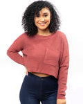 Mauve Crop Top (2754147221604)