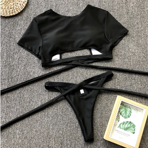 Sneak Peek High-Waist Bikini