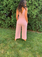 Sunday Picnic V-neck Jumpsuit (3586299723876)