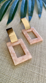 Squared Away Acrylic Earrings