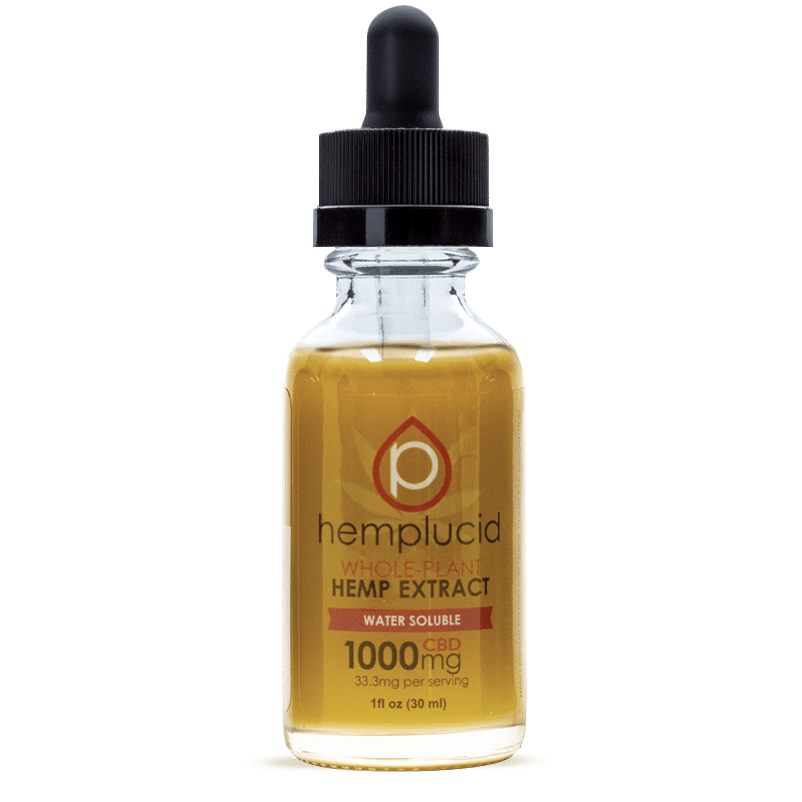 HEMPLUCID TINCTURE WATER SOLUBLE + Young Ideas CBD
