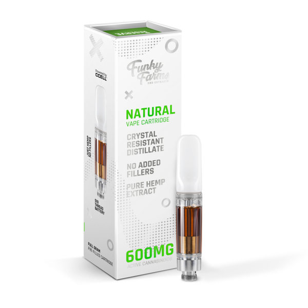 Funky Farms Natural CRD Cartridge 1mL (600mg)