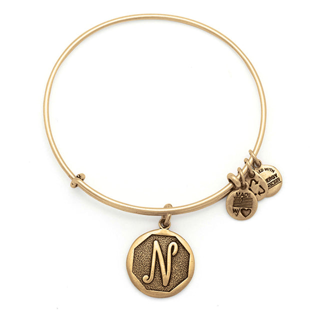 Pulsera Con Charm Inicial N