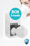 N95 Specialised Face Mask FFP2 (5 Masks per Box)