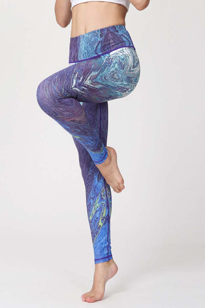 Fantasy Printed Yoga Leggings