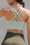 Criss Cross Yoga Top Bra