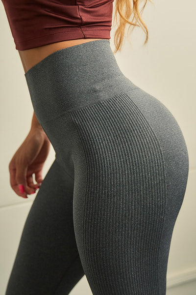 High-Waist Seamless Lift Legging