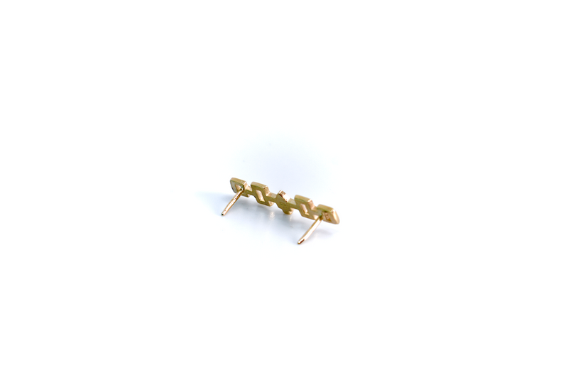 10kt gold Confederacy lapel pin