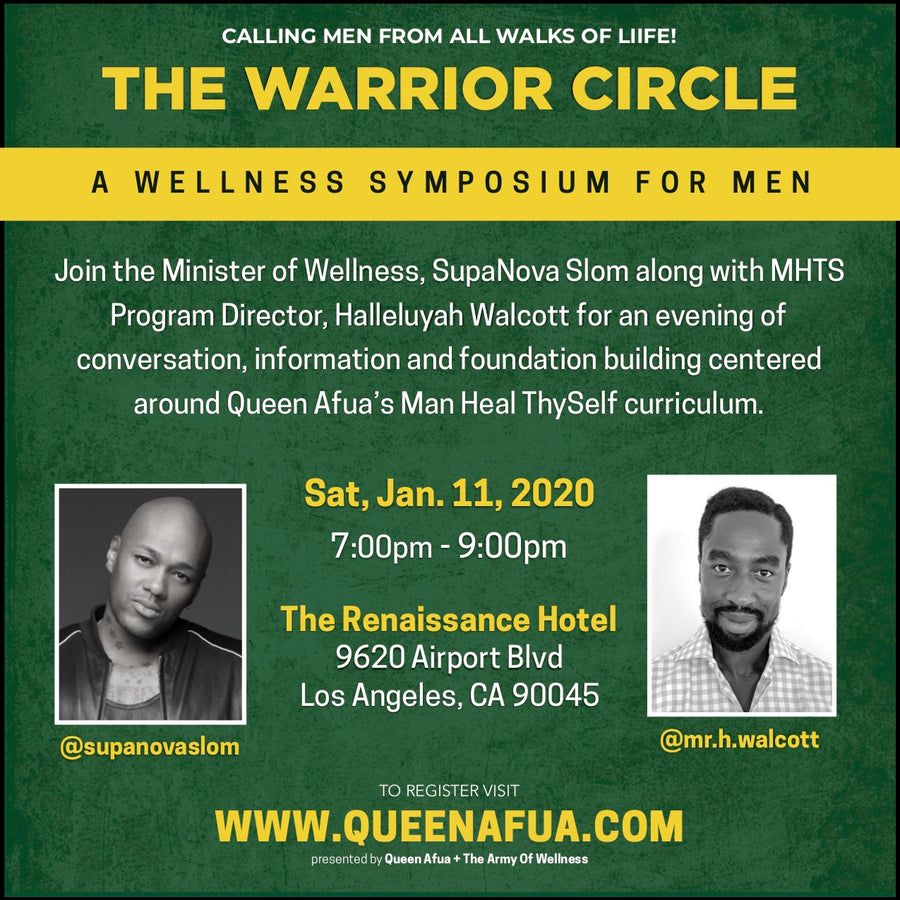 The Warrior Circle: Wellness Symposium For Men