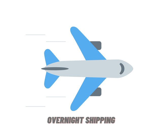 Overnight Shipping Available