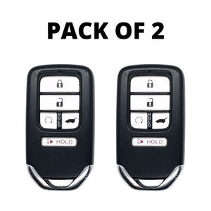 Pack of 2 - Honda 5 Button Smart Key Remote 2016-2019 for KR5V2X V44 w/ Hatch