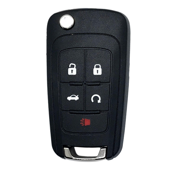 GM 5 Button Flip Key Remote 2010-2019 for FCC: OHT01060512