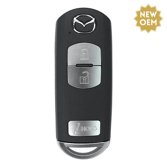 NEW Mazda 3 Button Smart Key 2012-2017 FCC: WAZSKE13D01 (OEM)