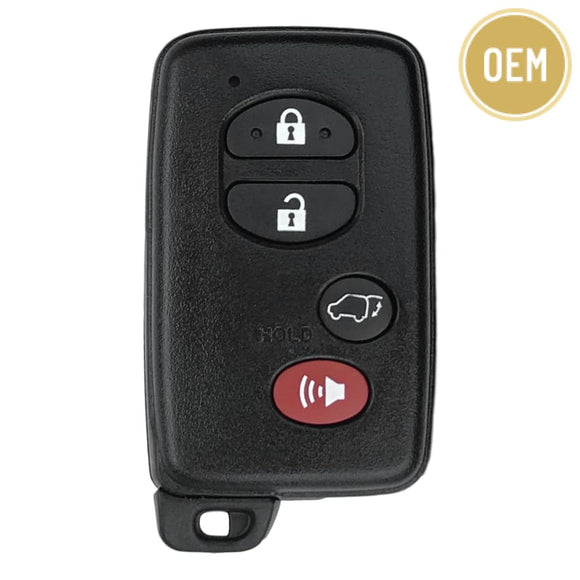 Toyota Venza 4 Button Smart Key with Hatch 2010-2017 FCC: HYQ14ACX GNE Board 5290 (OEM)