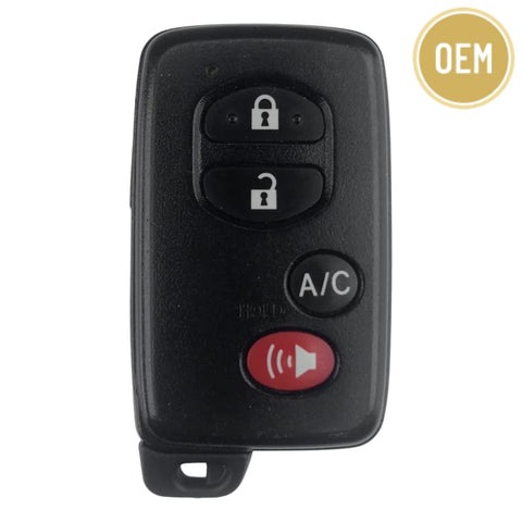 Toyota Prius 4 Button Smart Key 2010-2015 FCC: HYQ14ACX GNE Board 5290 (OEM)