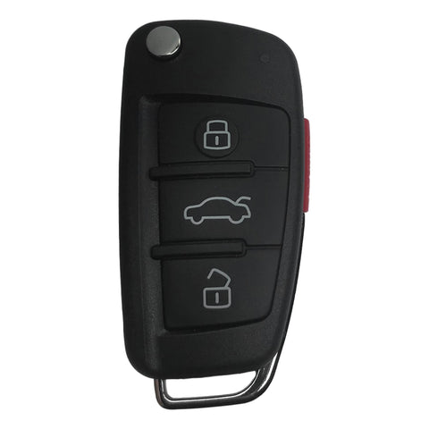 Audi A3 2006-2012 3 Button Flip Key Remote for NBG009272T
