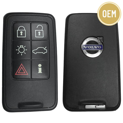 Volvo 2007-2018 6 Button Smart Key KR55WK49266 (OEM)