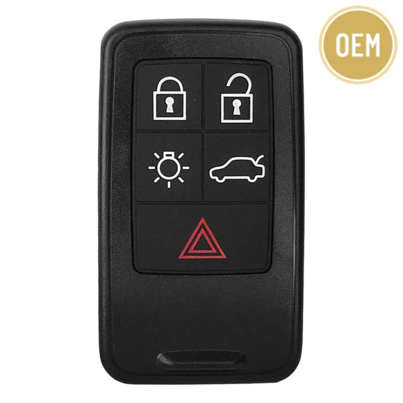 Volvo 2008-2017 5 Button Smart Proximity Key KR55WK49266 434 MHz (OEM)