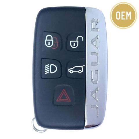 Jaguar 2017 F-Pace 5 Button Smart Key KOBJTF10A (OEM)