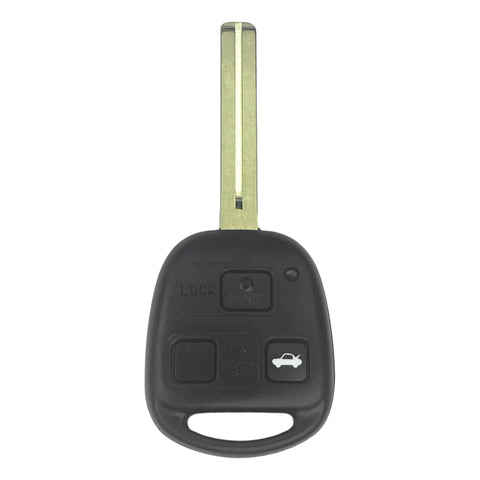 Lexus ES300 SC300 SC400 3 Button Remote Head Key 1998-2001 For HYQ1512V