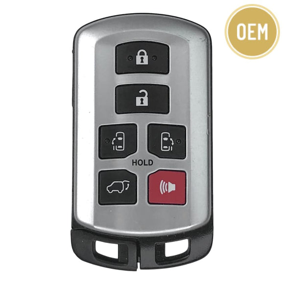 Toyota Sienna 6 Button Smart Key 2011-2020 FCC: HYQ14ADR (OEM)
