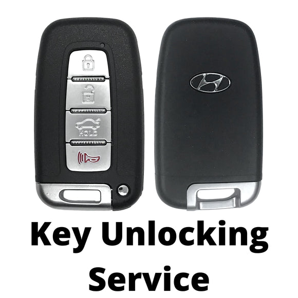 Hyundai Smart Key Unlocking Service