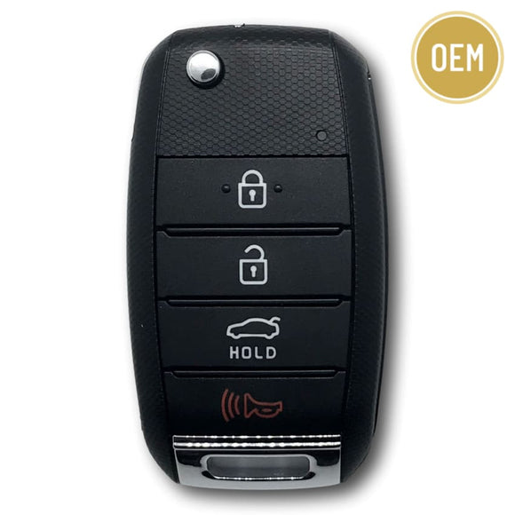 Kia Optima 2014-2015 OEM 4 Button Flip Key NYODD4TX1306-TFL