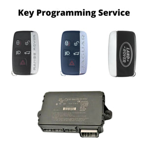 Range Rover Land Rover Jaguar Key Programming - Mail In Service