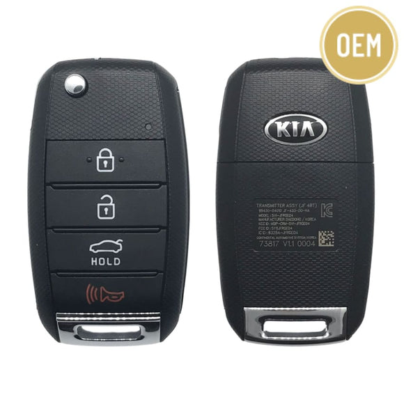 Kia Optima 4 Button Flip Key 2016-2018 | SY5JFRGE04 | 95430-D4010 (OEM)