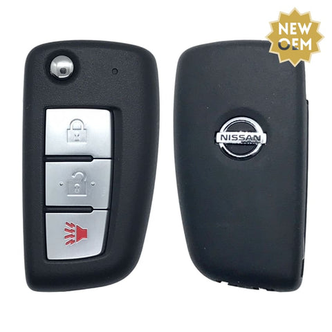 Nissan Rogue 3 Button Flip Key Remote 2014-2018 FCC: CWTWB1G767 (OEM)