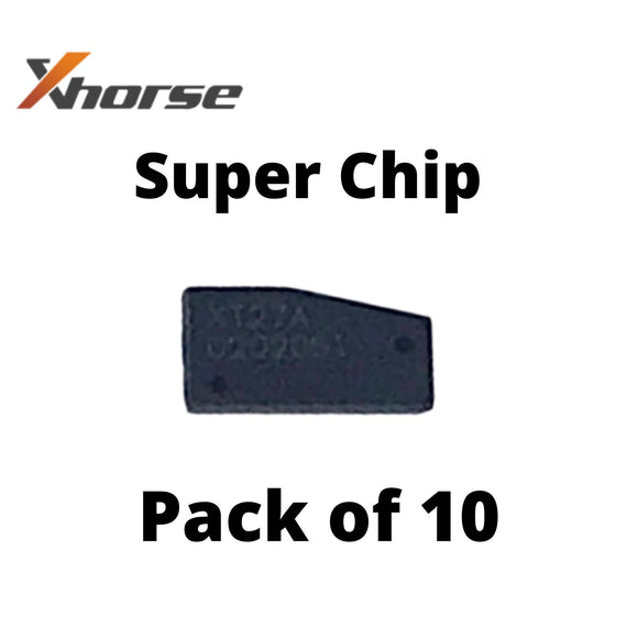 XHorse VVDI Super Chip XT27A - Create Over 20+ Transponder Chip Types (10 PACK)
