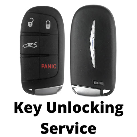 Chrysler 200 Smart Key Unlocking Service