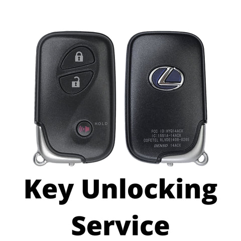 Lexus Smart Key Flash/Virginization Service