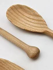 Small wood spoon