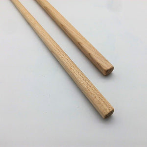 Maple chopsticks, personalized laser engraving available
