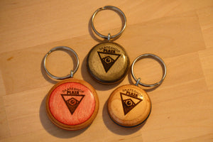Personalized basic keychain